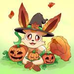 Pumpkin Leafeon!