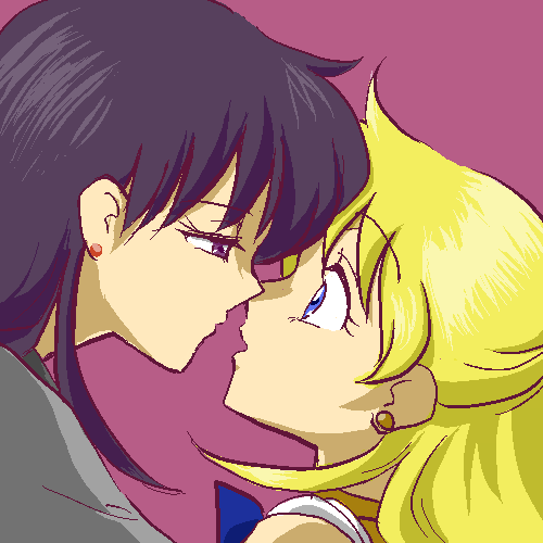 Rei x Minako Rei_and_Vinus_by_Rhodonite