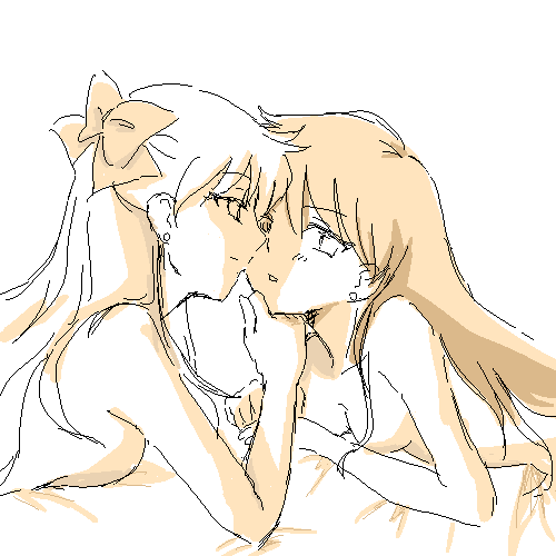 Rei x Minako Minako_and_Rei_2_by_Rhodonite
