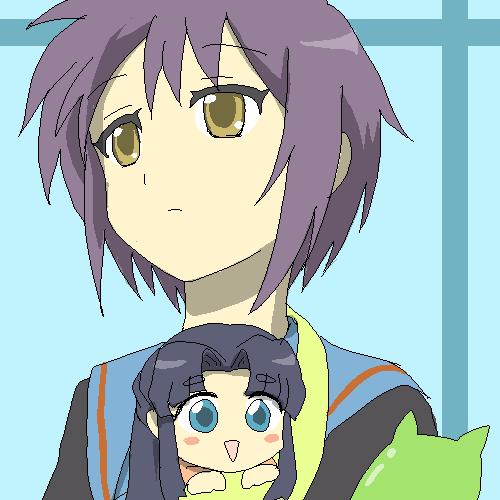 Nagato and Achakura-san by Rhodonite
