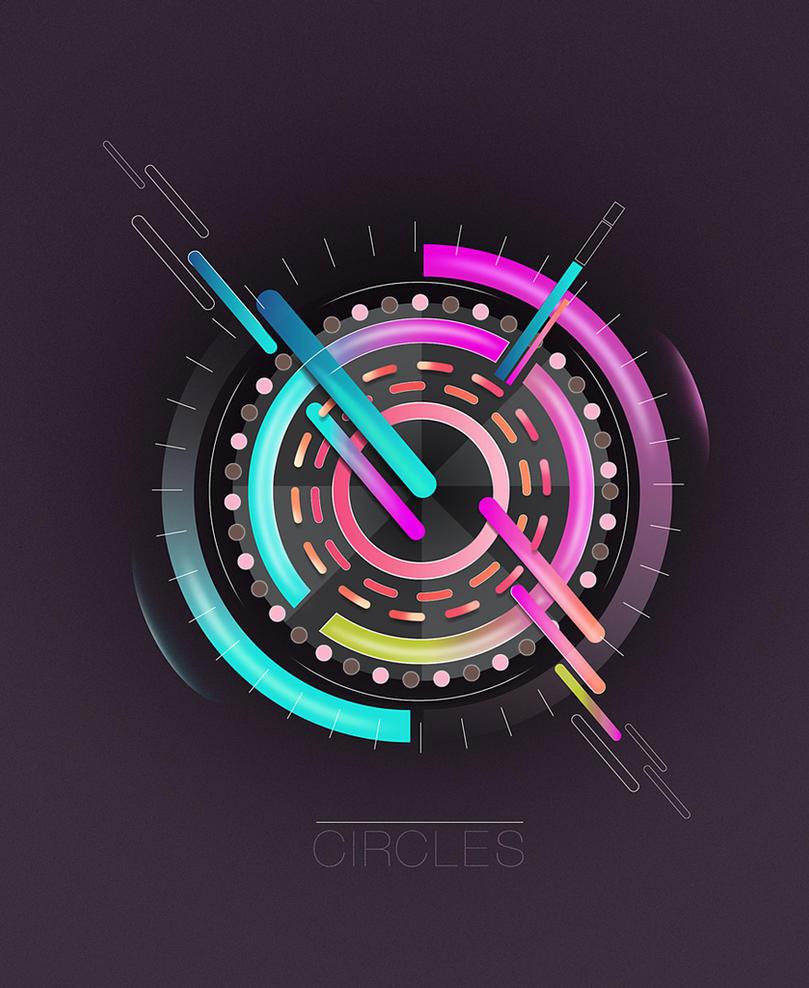 Circles by wane1