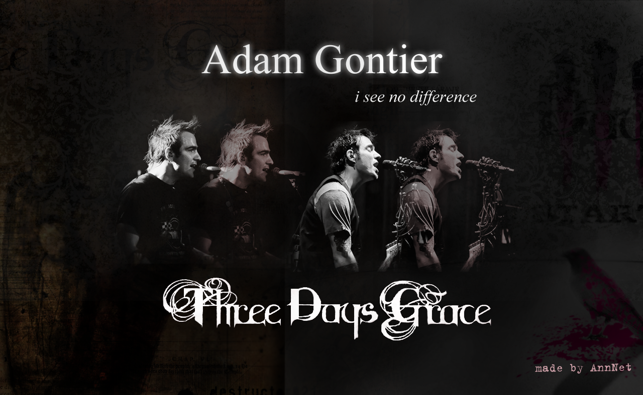 Adam gontier wallpapers by annyuinet on deviantart - Adam gontier wallpaper ...