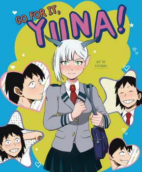 (BNHA OC) Go for it YUNA!