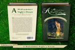 A Midsummer Night's Dream - Book Cover (Hardcover)