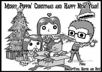 Merry Christmas 2017 and Happy New Years by Komikino
