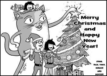 Merry Christmas 2018 and Happy New Years! by Komikino