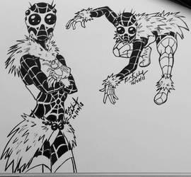 #Spidersona- Jumping Spider by Komikino
