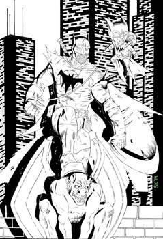 Batman of Zur-en-arrh Inks