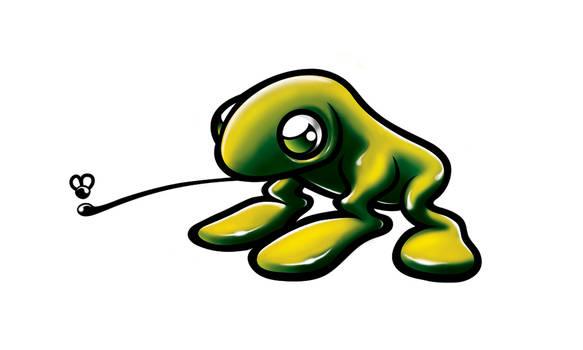 frog mascote
