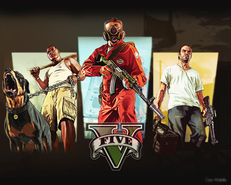 GTA V: Fan Art by CeeJayWaffles on DeviantArt  GTA V: Fan Art ...