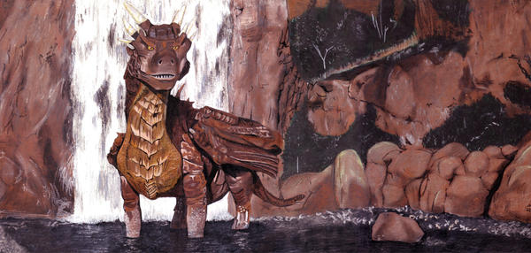 Old Dragonheart by mattdez