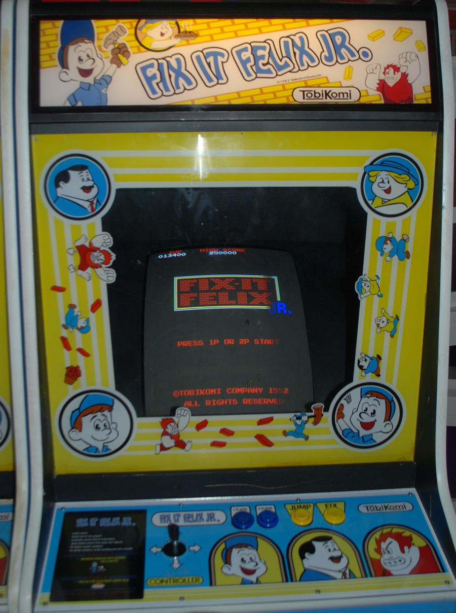 Fix It Felix Jr Arcade Machine Fix it Felix Arcade Ga...