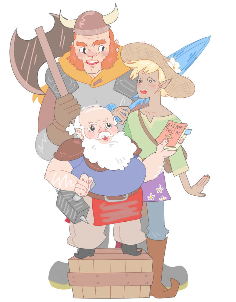 The Adventure Zone by rimonade