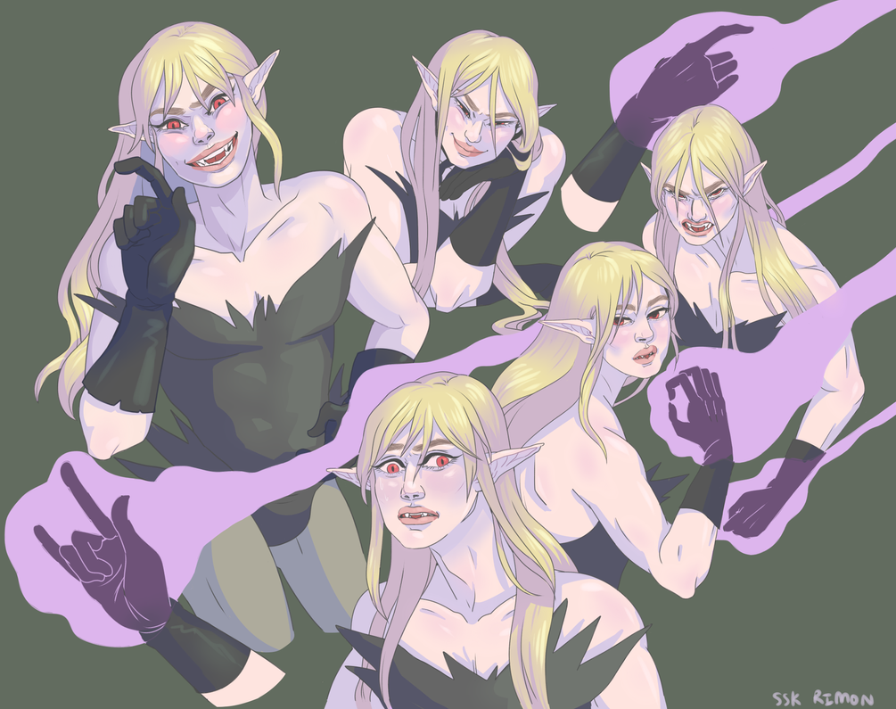 Lucien Expressions by rimonade