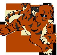 Rin Tiger Form by xKingofBanditsx