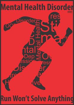 Poster Grafis Mental illness 5