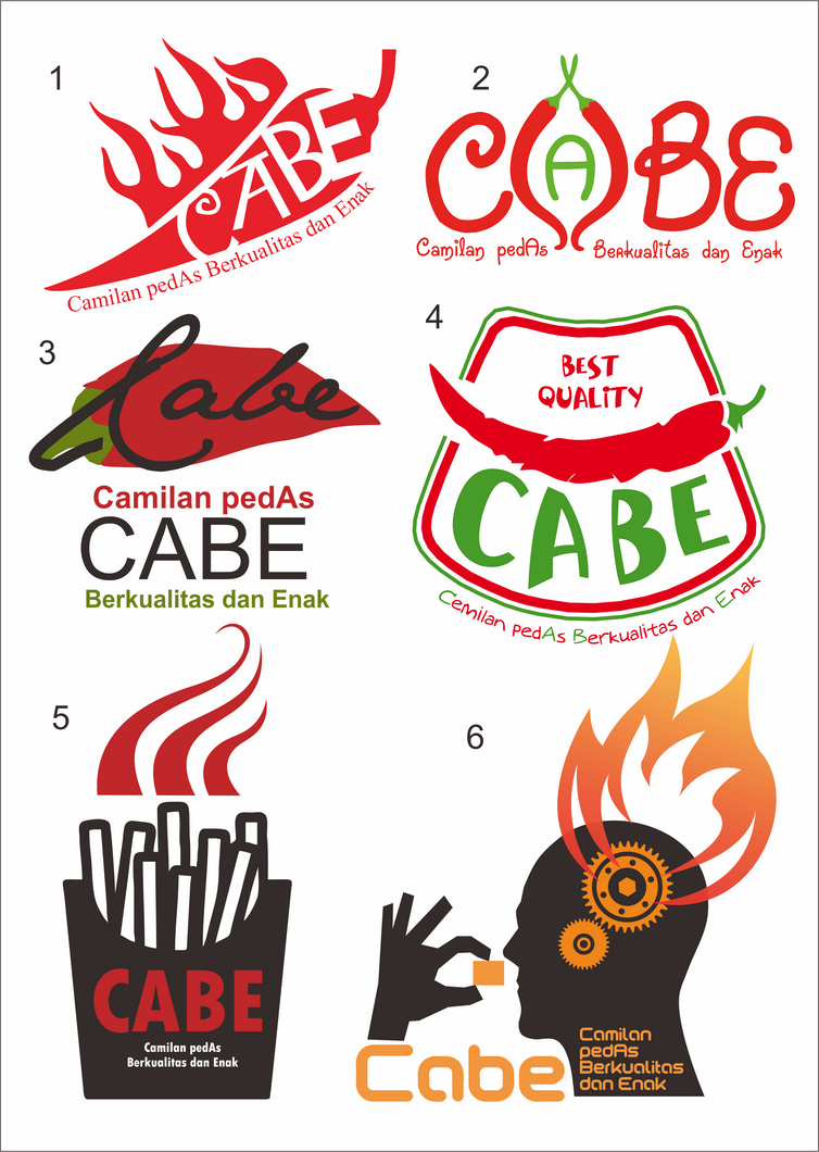 Logo Cabe Pedas Sekali