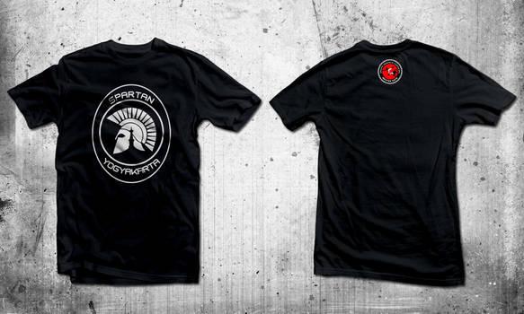 SPARTAN Capoeira T-shirt design