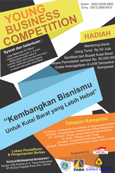 Young Business Competition Event Announcement