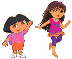 Old Dora, New Dora