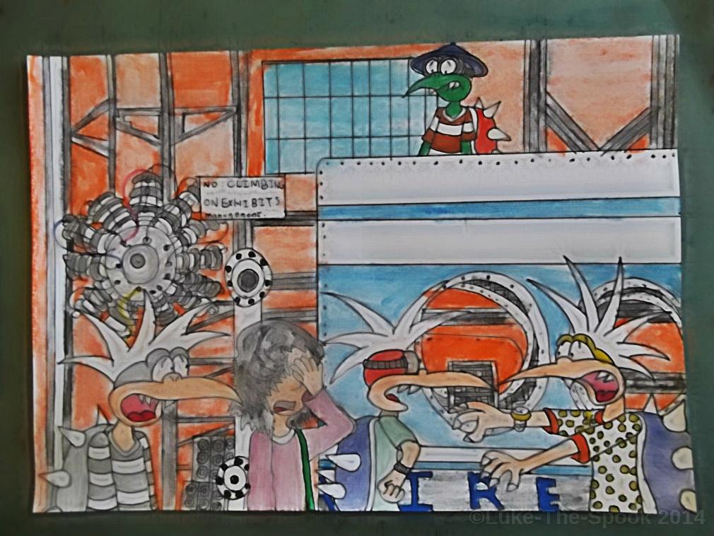 Kiwi Gardens - Panel 14 by Luke-The-Spook
