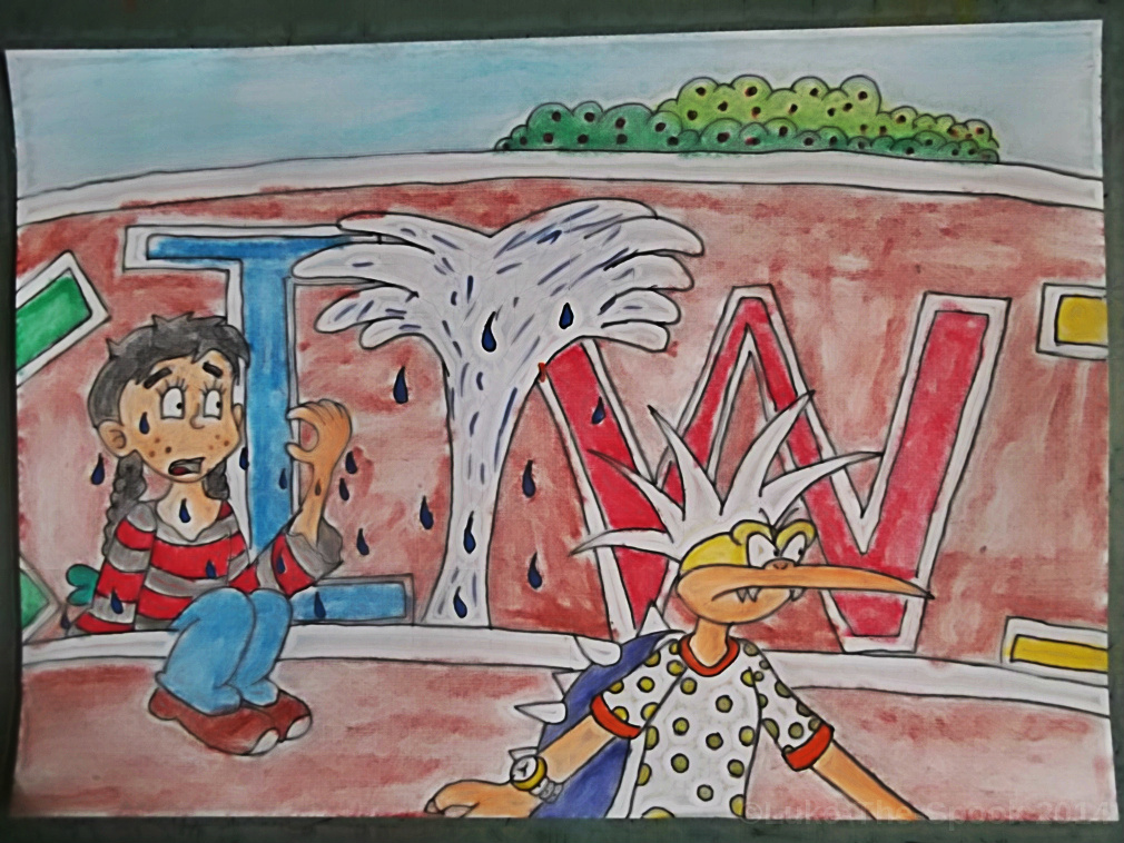 Kiwi Gardens - Panel 19 by Luke-The-Spook
