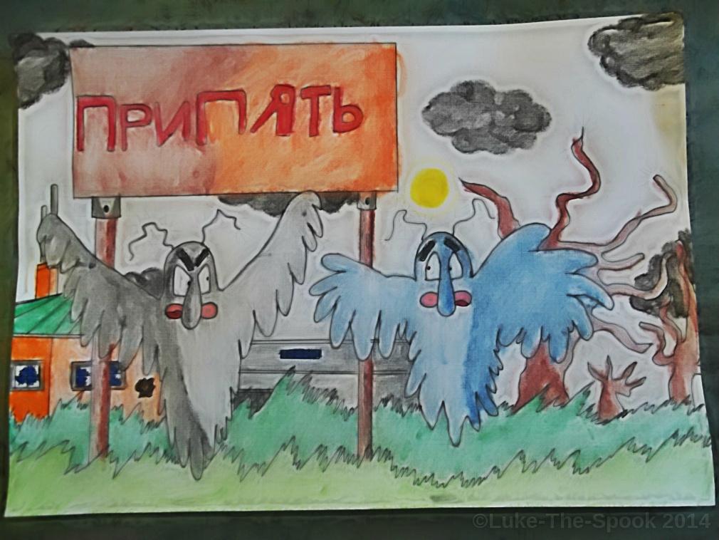 Pripyat Special - Panel 1 by Luke-The-Spook