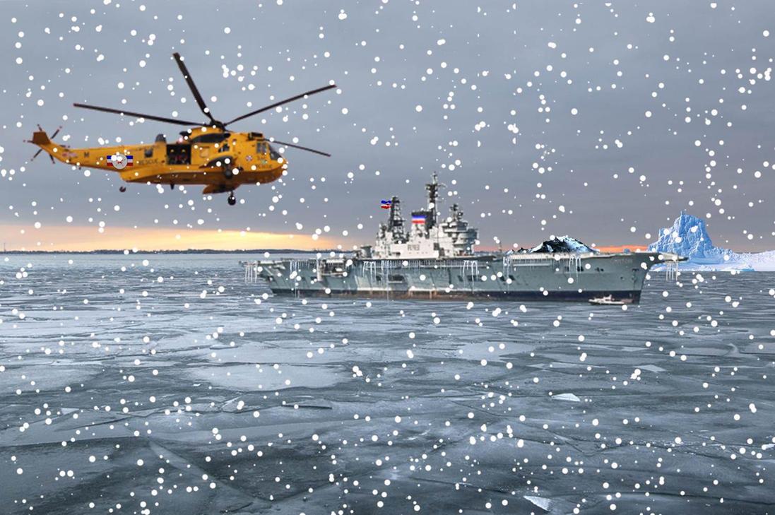 Operation - Ice Ship by The-Kiwi-Gremlin