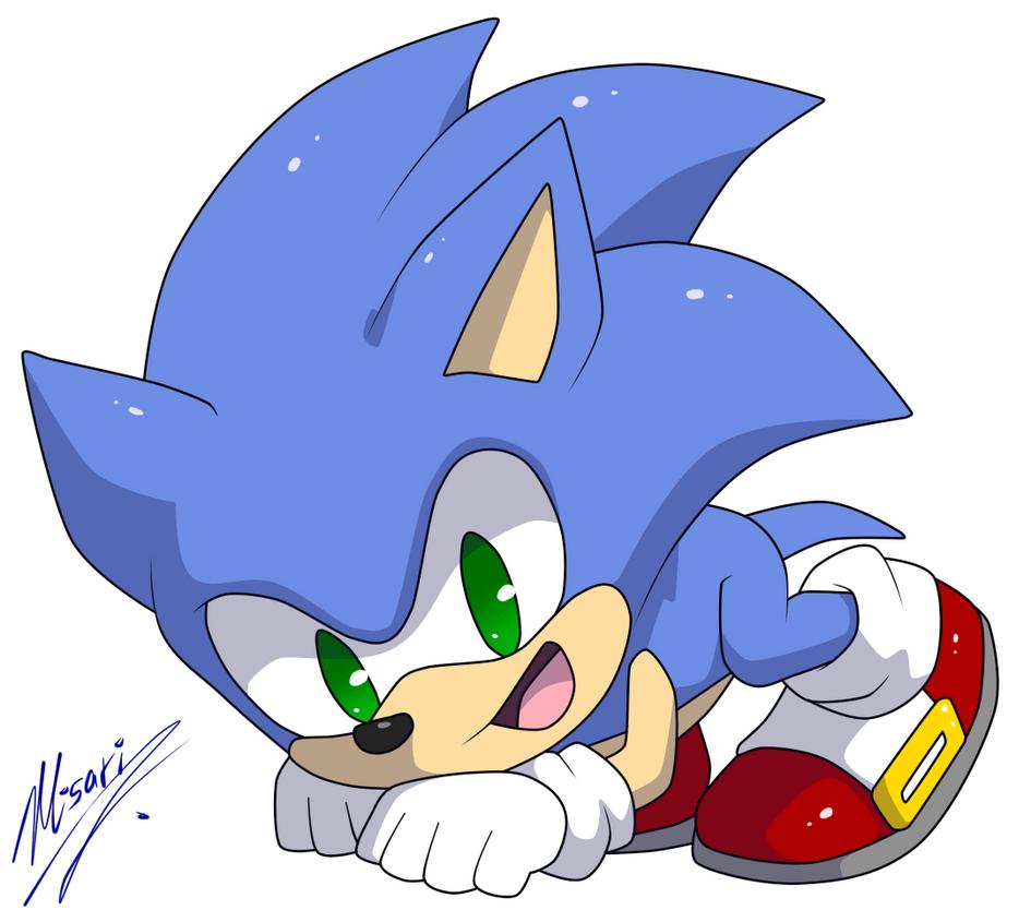 Chibi Sonic :gif: By Myly14 On DeviantArt