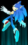 Sanic the blue blur