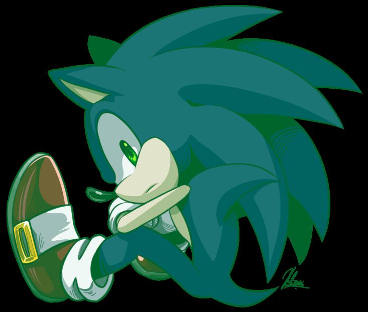 Sonic by Myly14