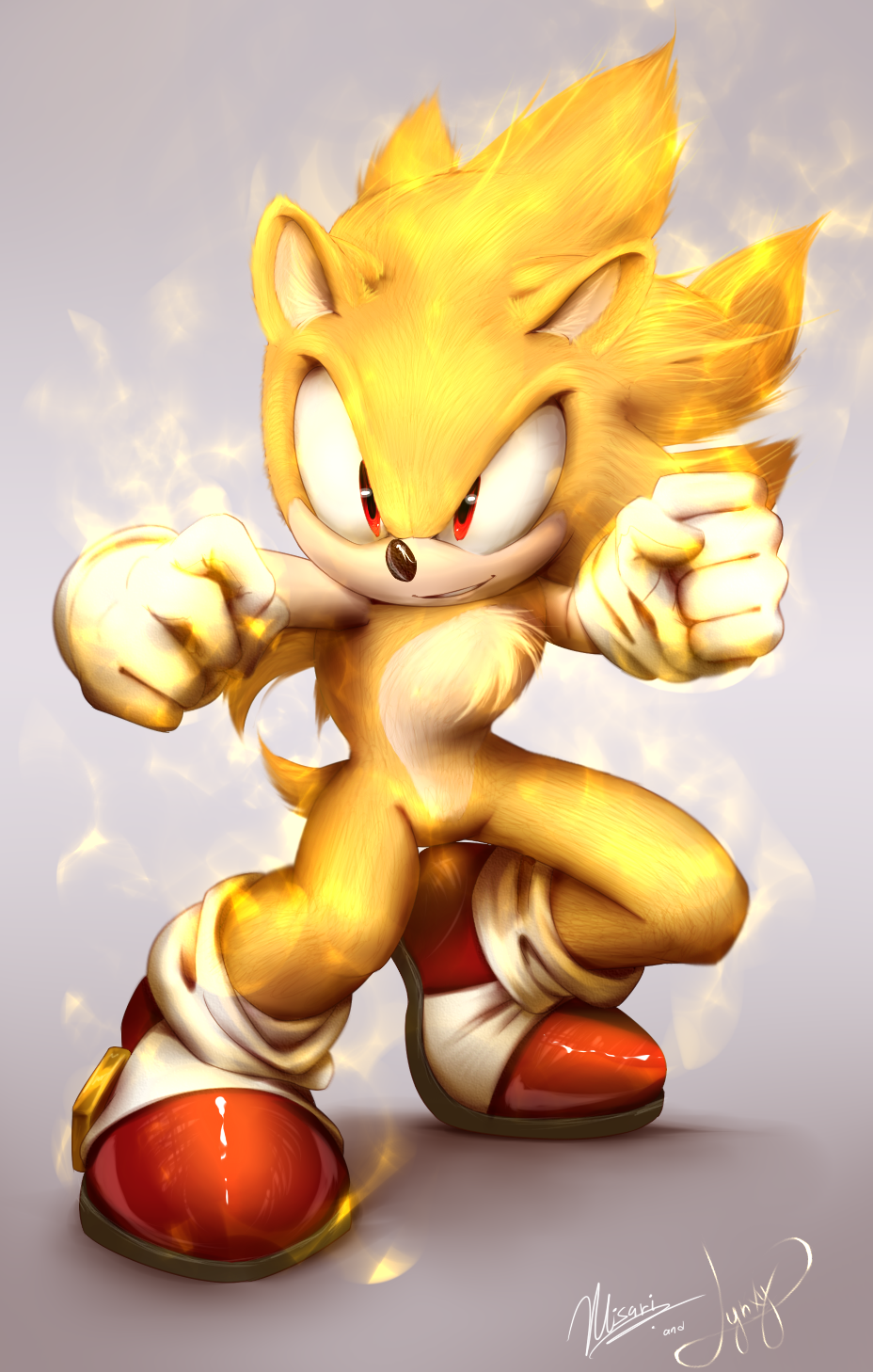 Super Sonic Collab By Myly14 On Deviantart