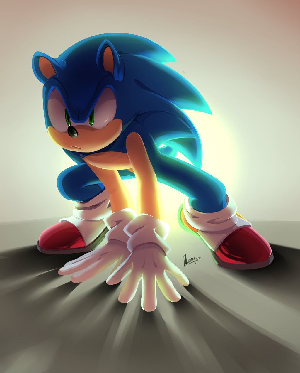 Sonic hedgehog fan art porn