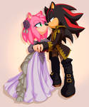 Commission: Shadow and Amy