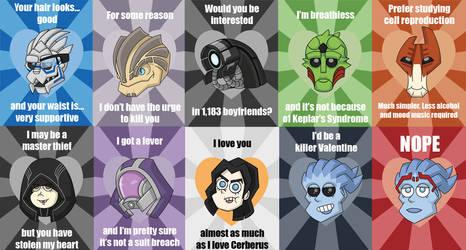 Mass Effect Valentine Sampling