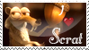 I +heart+ Scrat Stamp by MrsEmmyJ