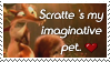 Scratte The Pet Stamp by MrsEmmyJ