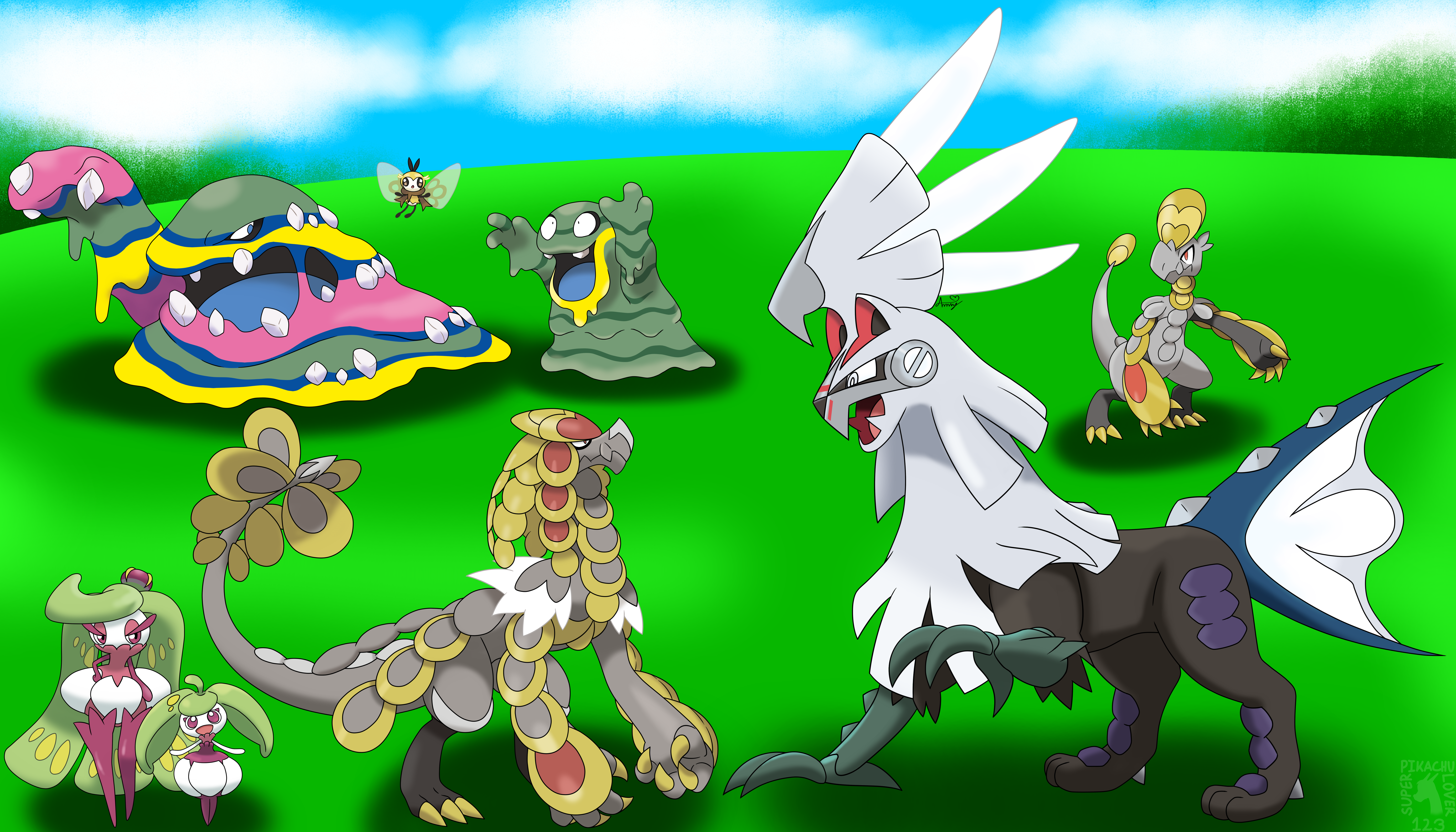 6 more alola pokemon and alolan forms by superpikachulover123 on