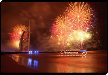 :: HAPPY NEW YEAR 2008 :: by x-alshamsi-x