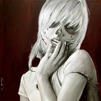 skull girl by cocoaspen