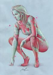 spiderwoman ultimate by cocoaspen