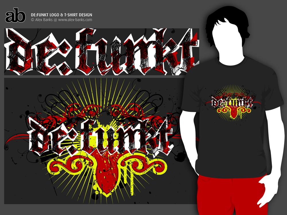 De:Funkt_Logotype and T-shirt