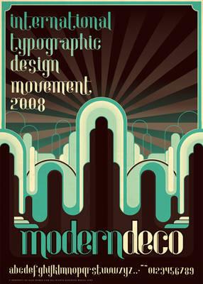 Modern.Deco.Typography