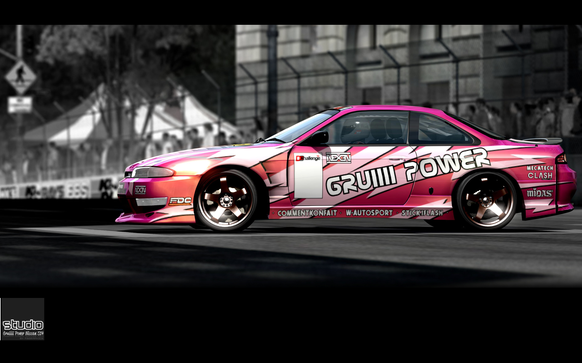 STUDIO: GRUIIII POWER by atobgraphics