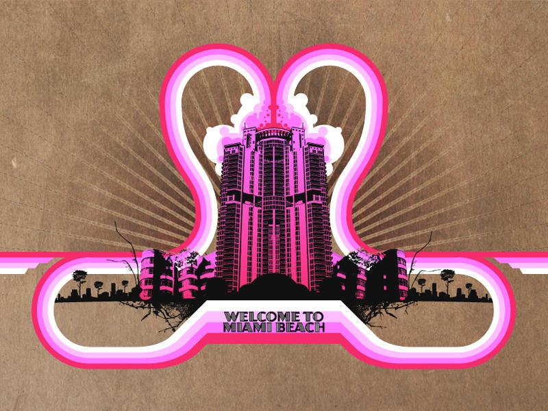 Miami Beach by atobgraphics