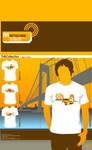 Retro Ride T-Shirt Design