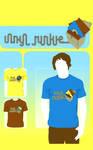 Vinyl Junkie : T-Shirt Design