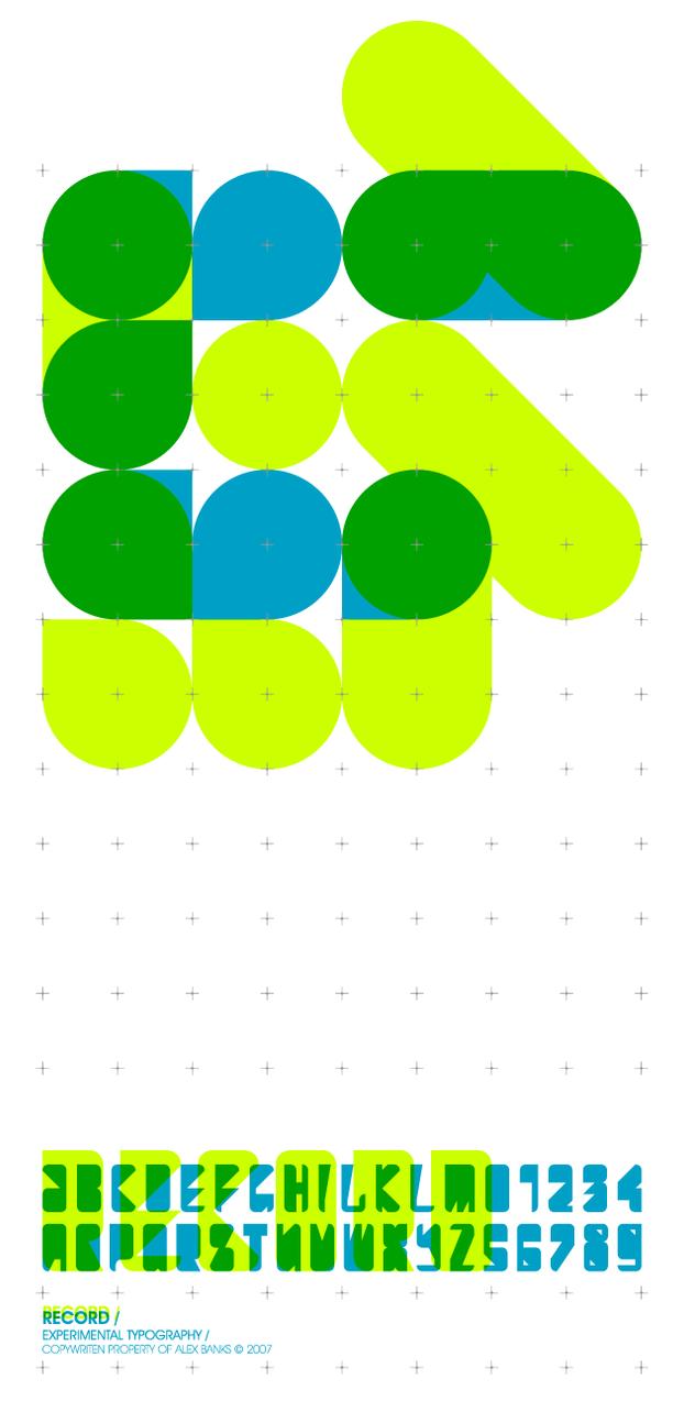 Experimental.Typo_Record by atobgraphics