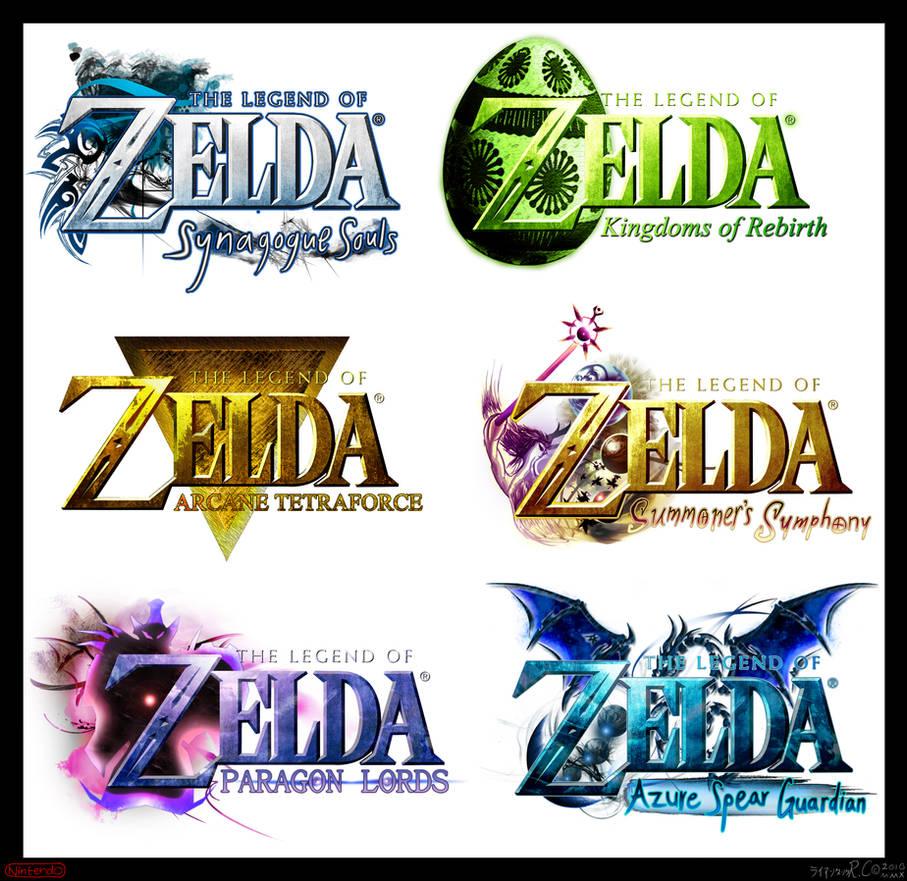 Zelda Logo Compilation III by AzureParagon