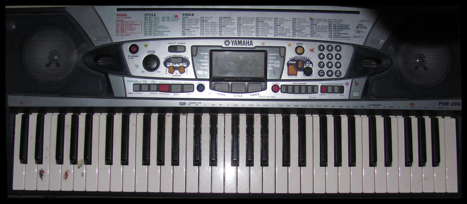 Psr Forum Yamaha Keys